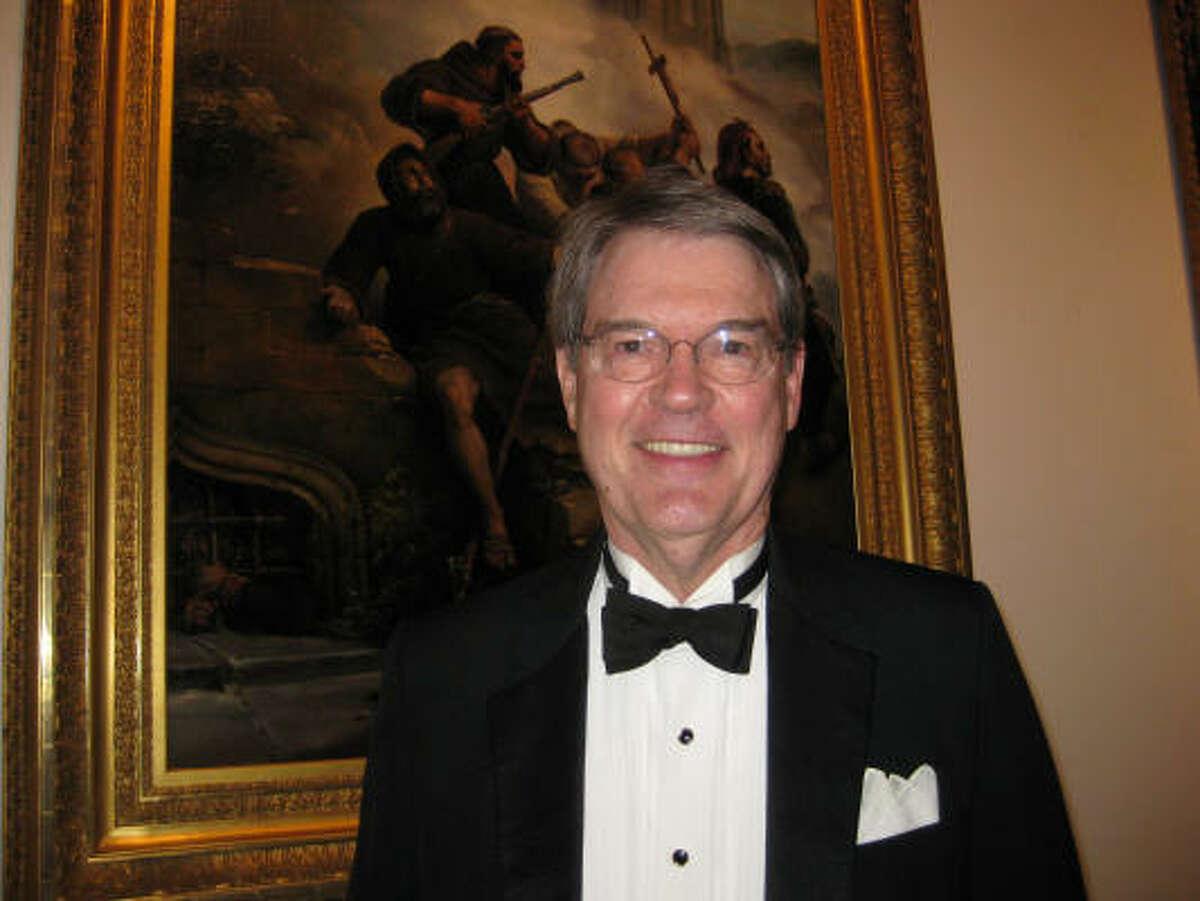 Edgar Peters Bowron, the Audrey Jones Beck Curator of European Art at the MFAH, officiated.