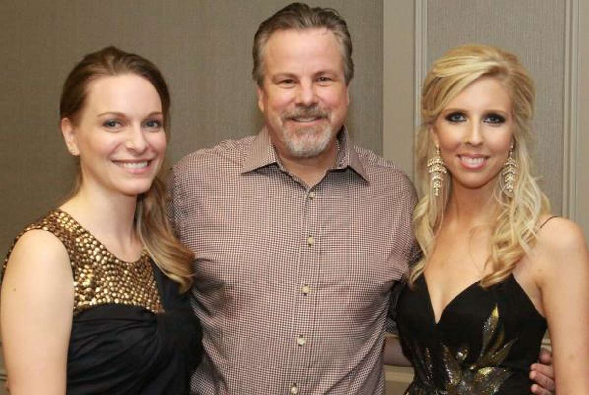 Sara Strohmeyer, Robert Earl Keen and Ashley Stehlin-Anderson at the 29th Annual Friends of the Stehlin Foundation Gala Benefiting Cancer Research.