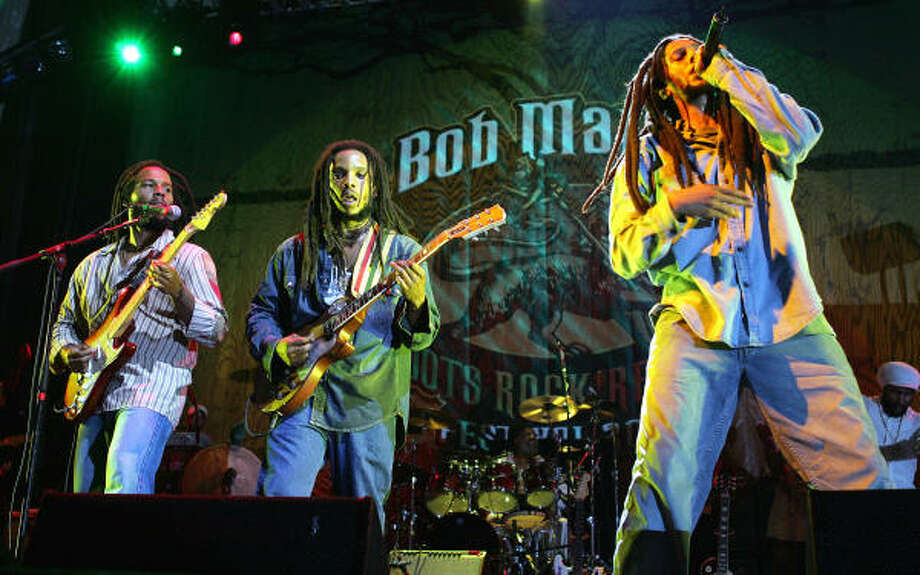Bob Marley was fruitful and he multiplied a bunch. No small number of his offspring have decided to follow his path in making reggae. Julian Marley had a few starts and stops, but his new Awake suggests great things to come. His half brother Stephen, the best producer in the Marley family, will open. 8:30 tonight at House of Blues, 1204 Caroline. Tickets are $21-$30. Photo: Frank Micelotta, Getty Images
