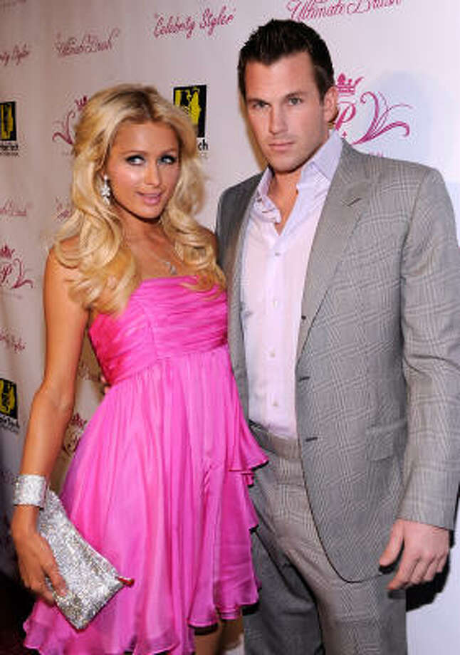 Paris Hilton:She is a trainwreck because of all the public fights she keeps getting into with her boyfriend and Doug Reinhardt, and the fact that the cops had to be called to her house. Photo: Frazer Harrison, Getty Images