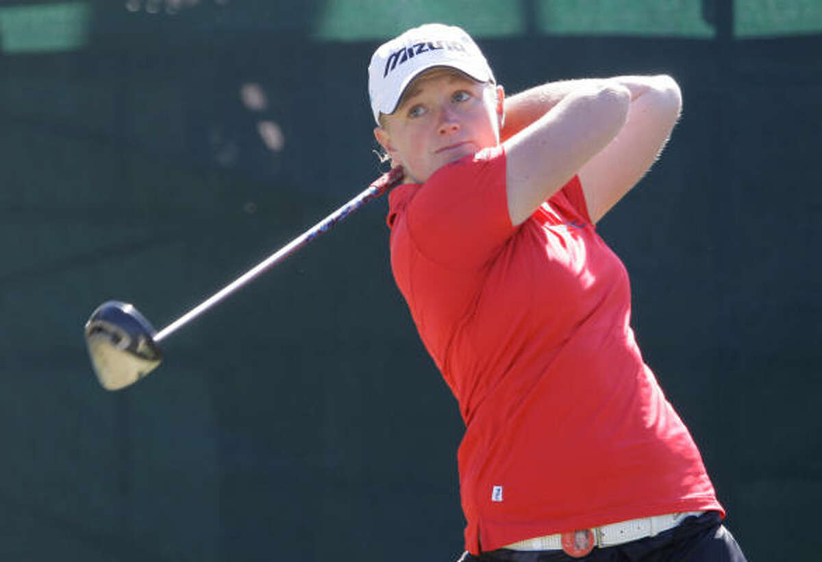 Stacy Lewis Product of The Woodlands and 2007 NCAA Division I champ while at Arkansas tied for third at last year's U.S. Women's Open. Read Stacy Lewis' nightly blog.
