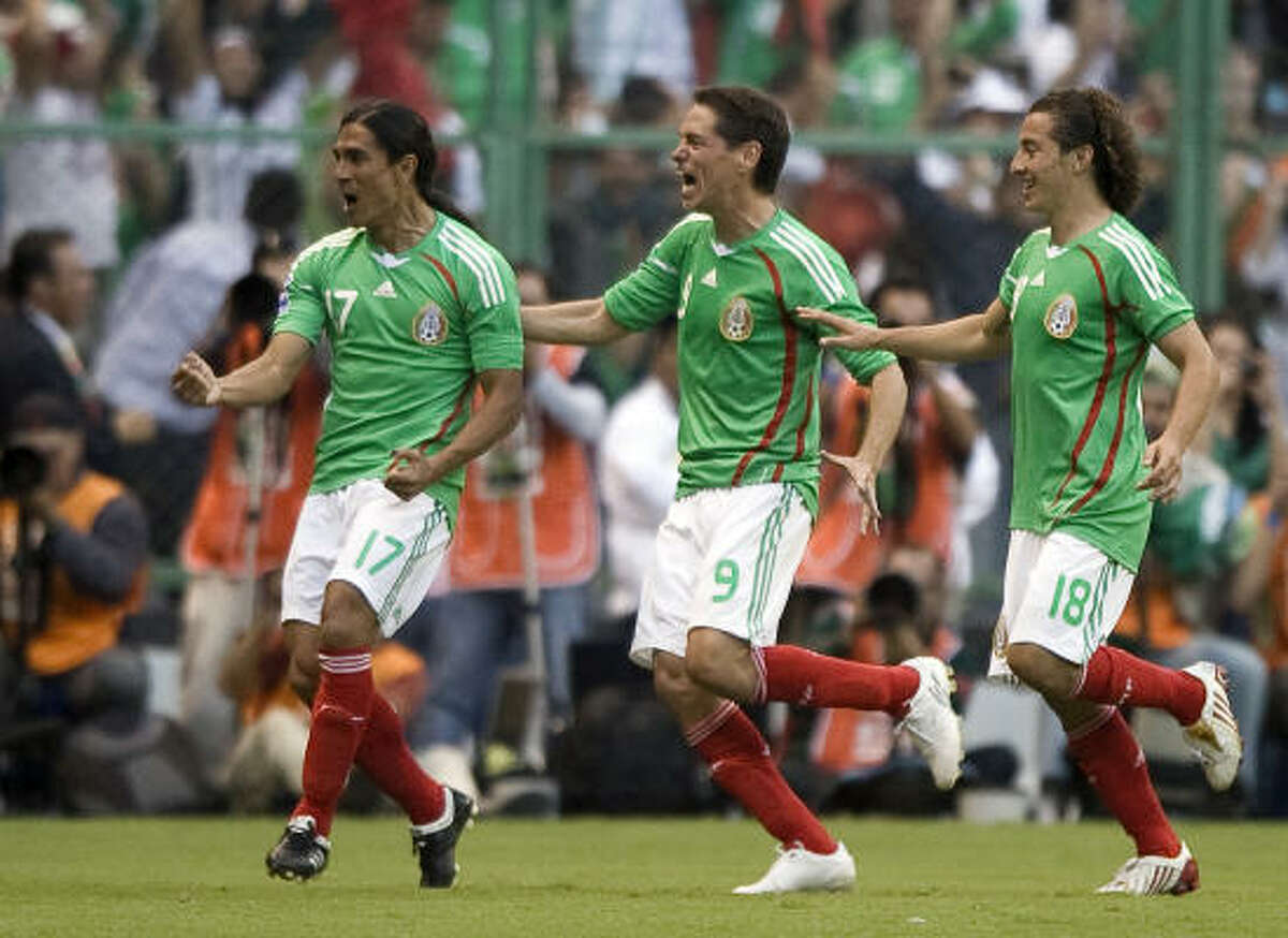 Mexico Mexico earned a spot in the World Cup after defeating El Salvador 4-1 on Oct. 10.