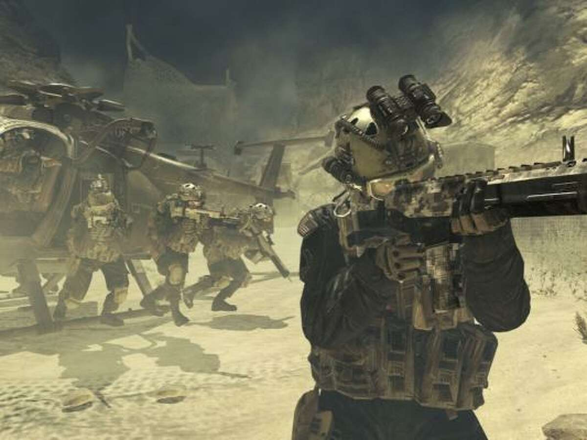 Game of the Year nominee Call of Duty: Modern Warfare 2. Also picked up nominations for Best Shooter, Best Multi-Player, Best Original Soundtrack and Best Graphics. The game's developer, Infinity Ward, was nominated for Best Developer.