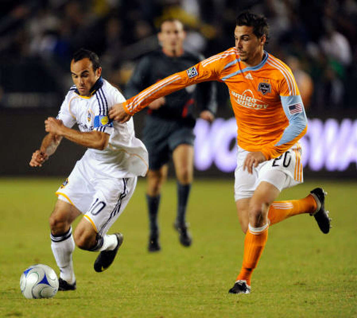 Defender Geoff Cameron, Houston Dynamo Cameron was a finalist for Defender of the Year and earned his first spot in the Best XI. He played 29 games this season, recording two goals and six assists and was a defensive force for a team that allowed a league-low 29 goals.