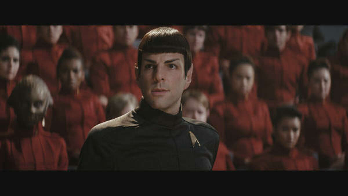 Star Trek is set for DVD release on Nov. 17. Check out scenes from the movie and other movies out this week. Pictured: Zachary Quinto as Spock.