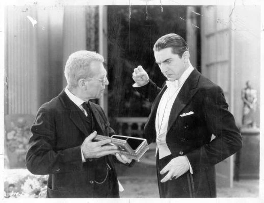 Bela Lugosi in 1931's Dracula. Photo: Handout