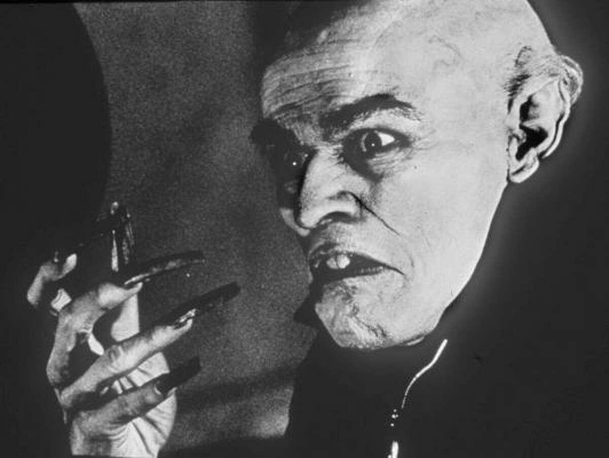 F.W. Murnau The skull of
