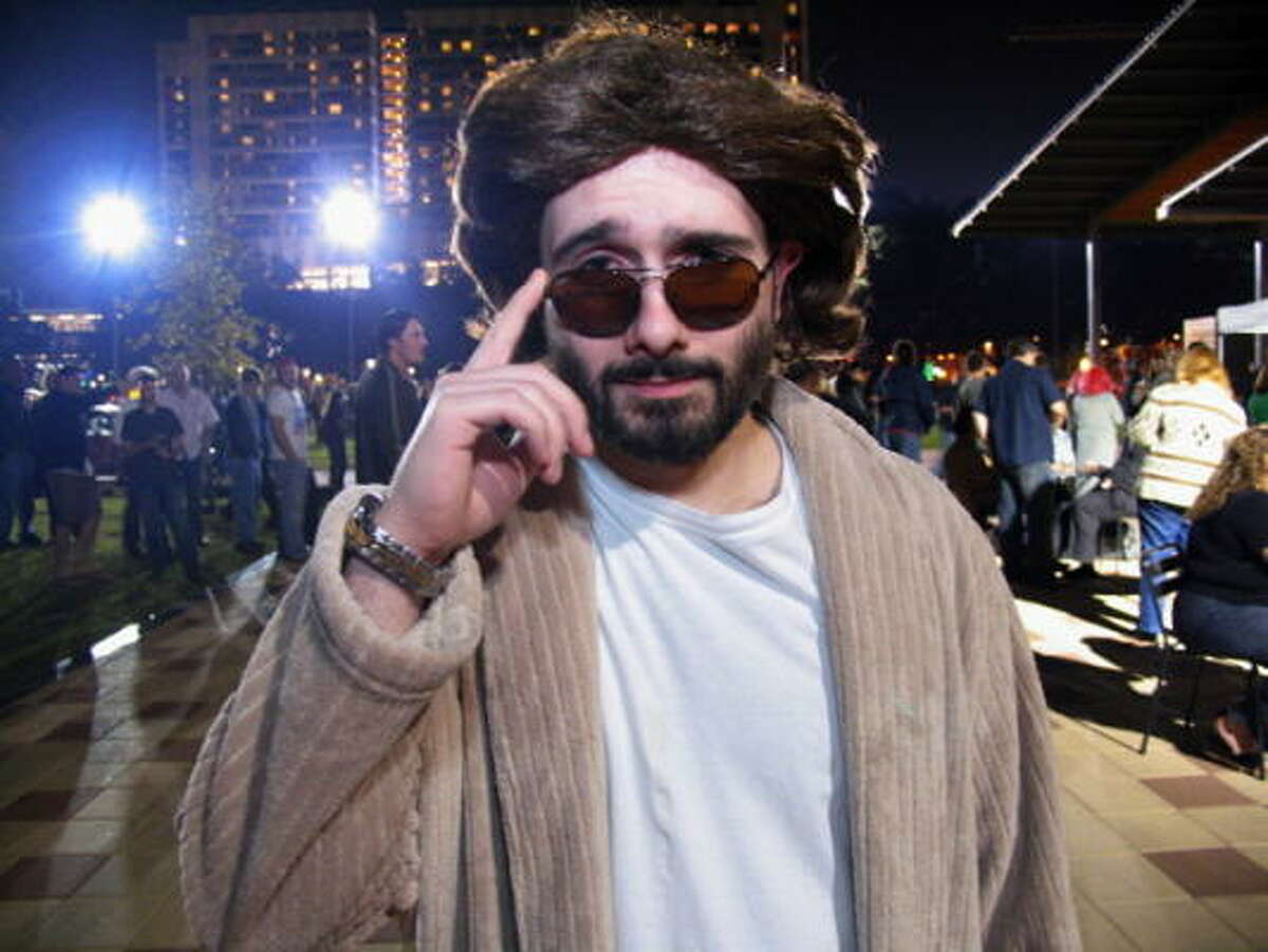 """The 2009 Lebowski Bash was held at Discovery Green on Friday, Nov. 13. The event included live music, drinks, human bowling and all things """"Dude,"""" themed around The Big Lebowski. Pictured: Greg Burland"""