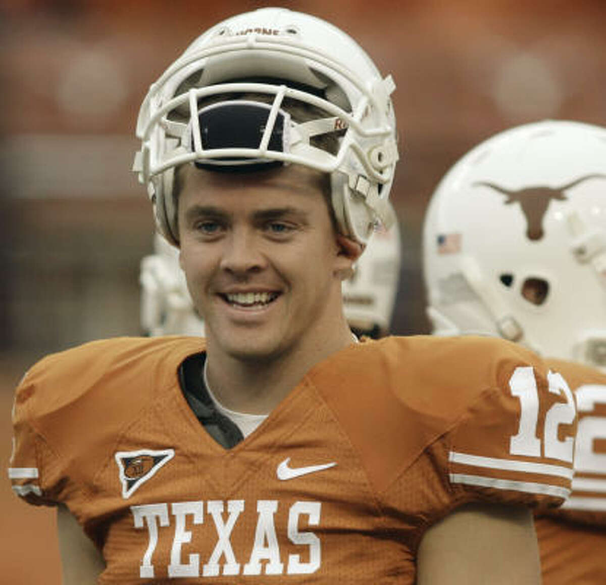 Marquee man Texas quarterback Colt McCoy has a 72.9 completion avarage and 17 touchdowns.