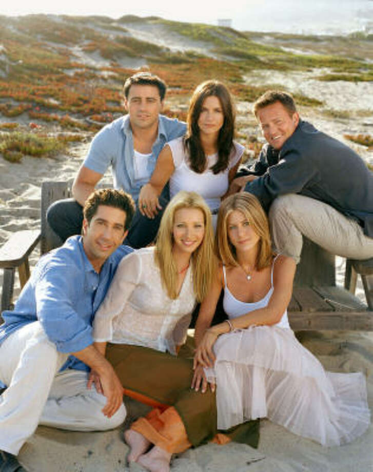 "Never again: ""Friends."" This show was very popular. We watched it a lot, just like everyone else. And now, we wish to delete it from the world, just like we would like to delete much of the mid-90s.  Photo: Lance Staedler, Warner Bros"