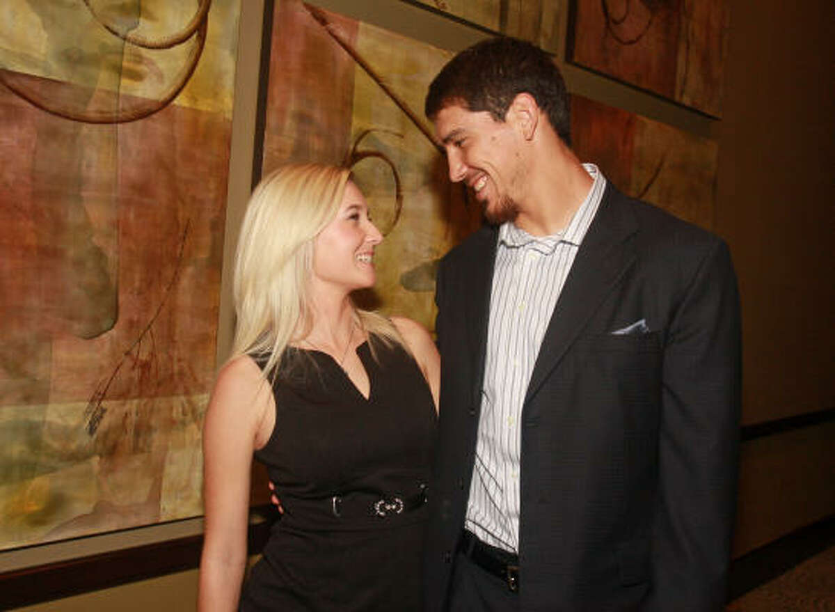 Kylie and James Casey at the Boys and Girls Country Heritage Award Dinner. James plays football for the Houston Texans.