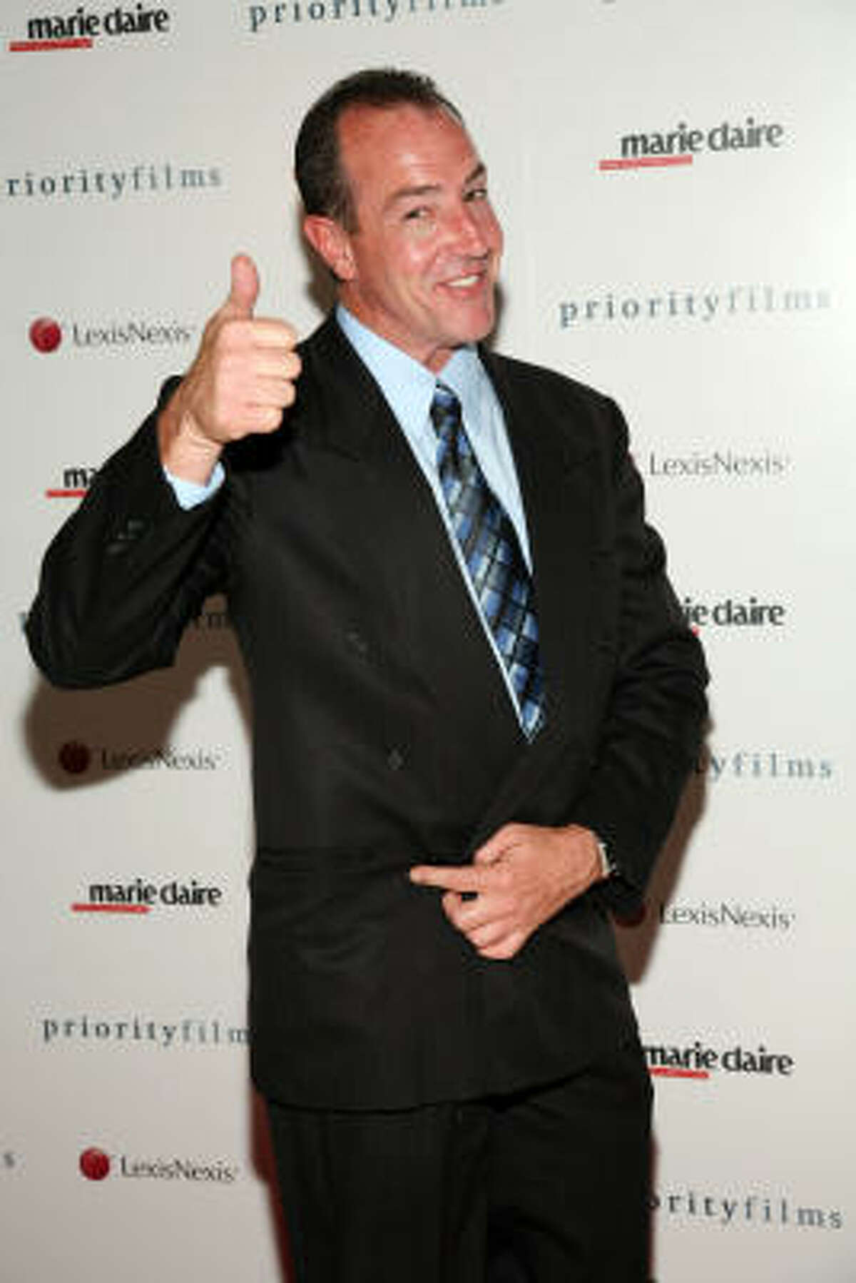 Michael Lohan Because my kid doesn't want to pat me down to see if I'm wearing a wire before she'll talk to me.