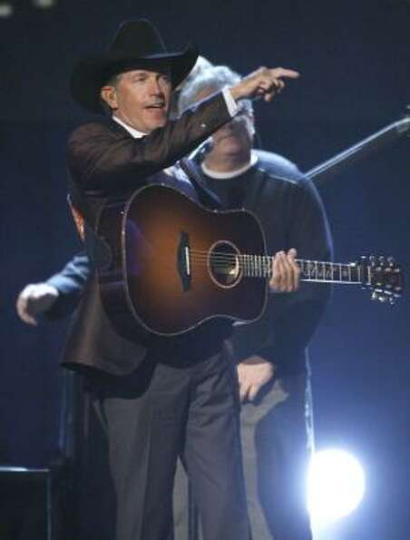 March 17 -- George Strait