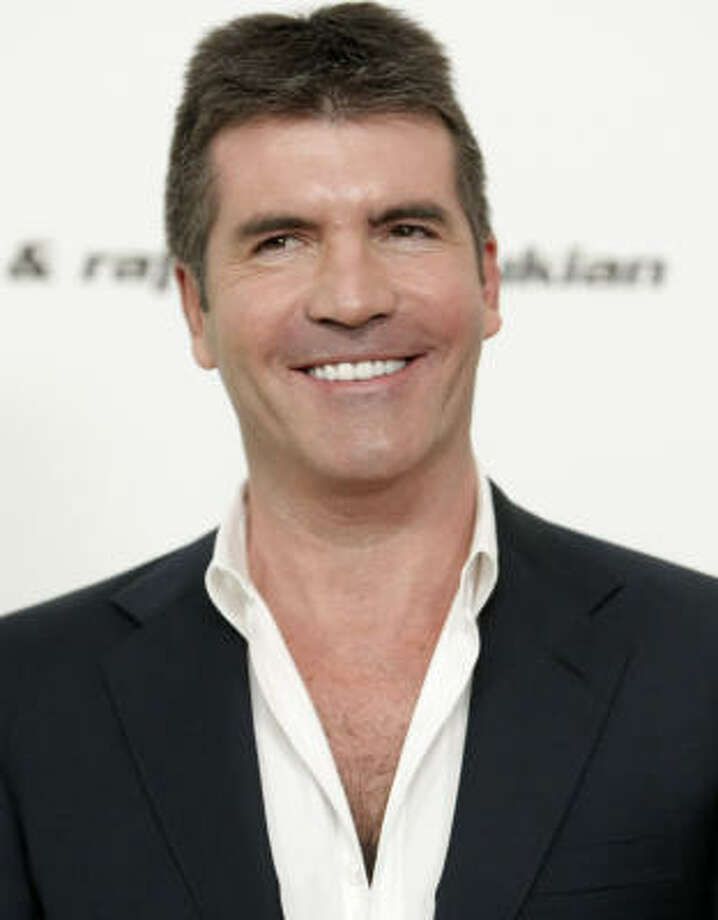 Forbes magazine named these guys the top earners iin 2009 on TV: 1. Simon Cowell (75 million dollars). Read more about how they made their money here. Photo: DAN STEINBERG, AP