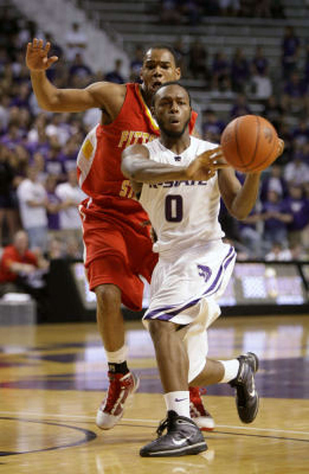 3. Kansas State Jacob Pullen is part of a starting backcourt that returns intact. The Wildcats also have 82 percent of their scoring back from last year's 22-12 team. Fourth-place pick from coaches' poll could be low.