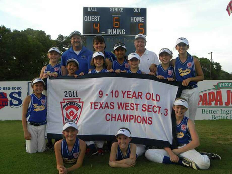 Alamo Heights Little League All-Stars. Courtesy photo