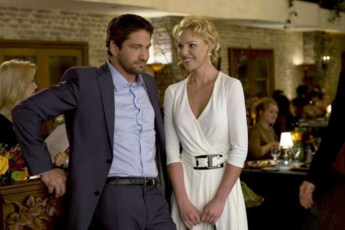 The Ugly Truth starring Gerard Butler and Katherine Heigl. Read the review here.