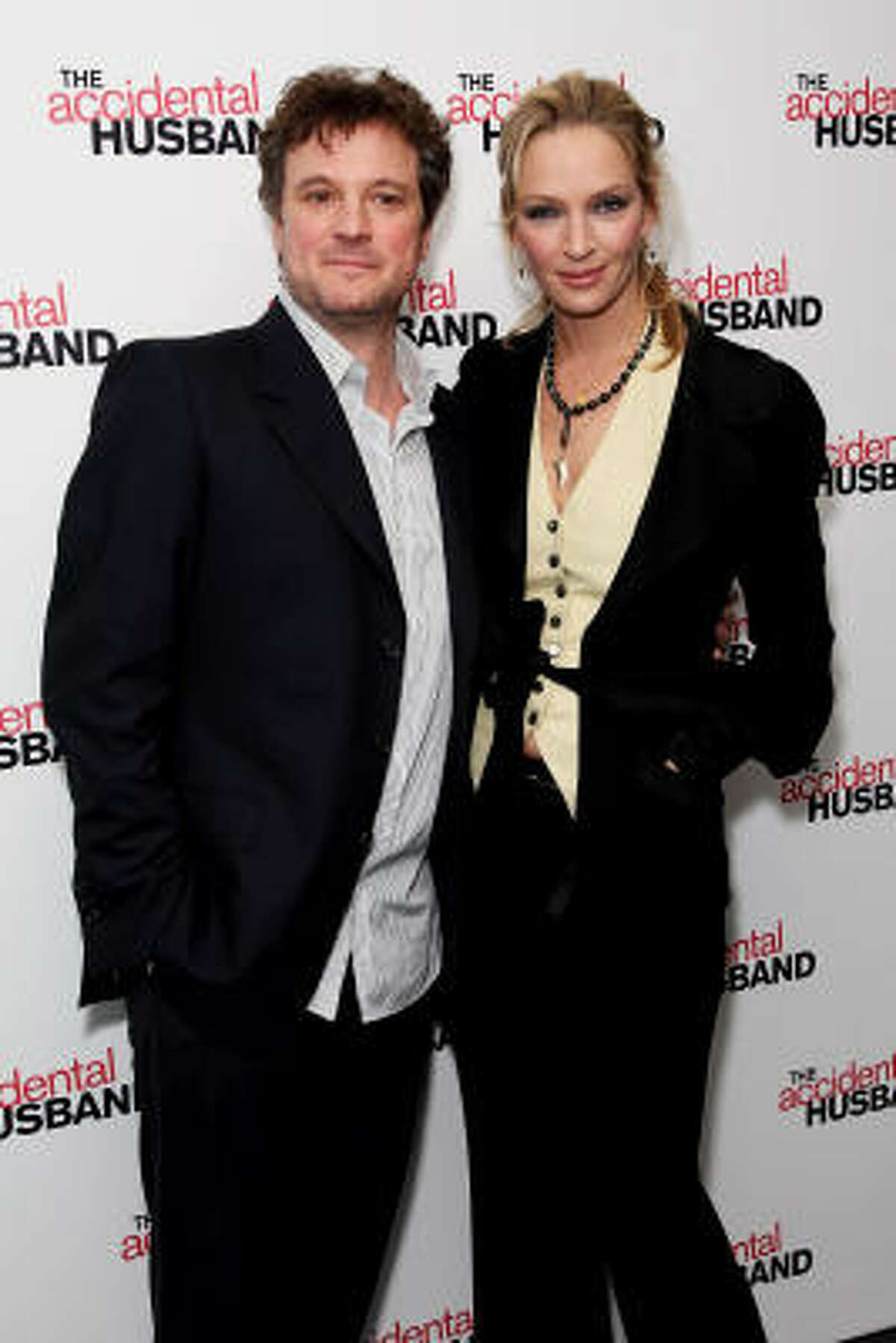 The Accidental Husband is a romantic comedy starring Uma Thurman, Jeffrey Dean Morgan and Colin Firth.
