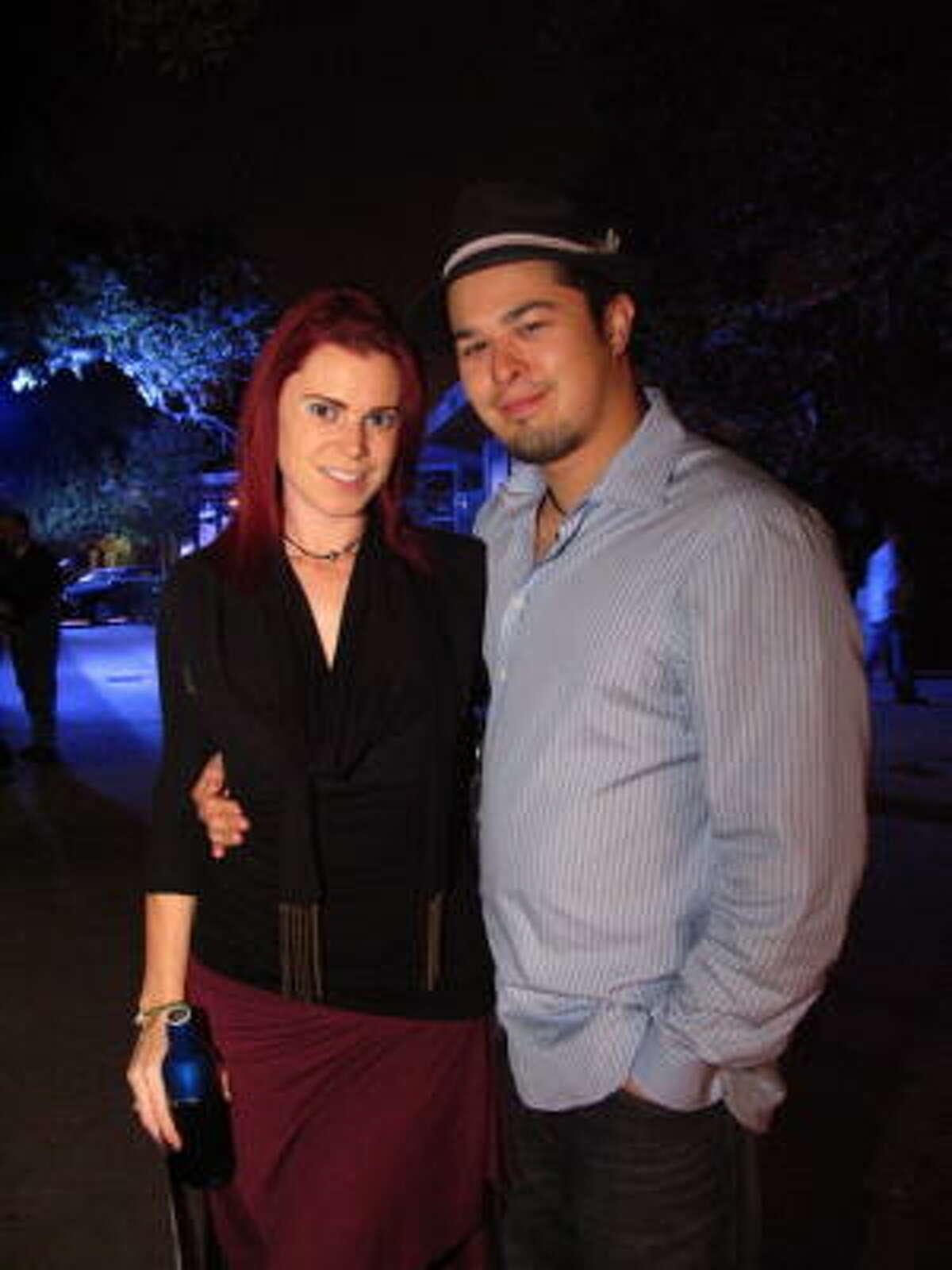 Kat Cassard, left, and Adam Barclay
