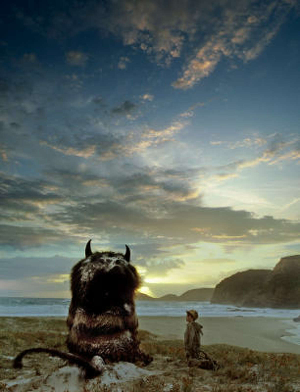 Where the Wild Things Are , $xxx million An adaptation of Maurice Sendak's classic children's story where Max, a disobedient little boy sent to bed without his supper, creates his own world -- a forest inhabited by ferocious wild creatures that crown Max as their ruler.