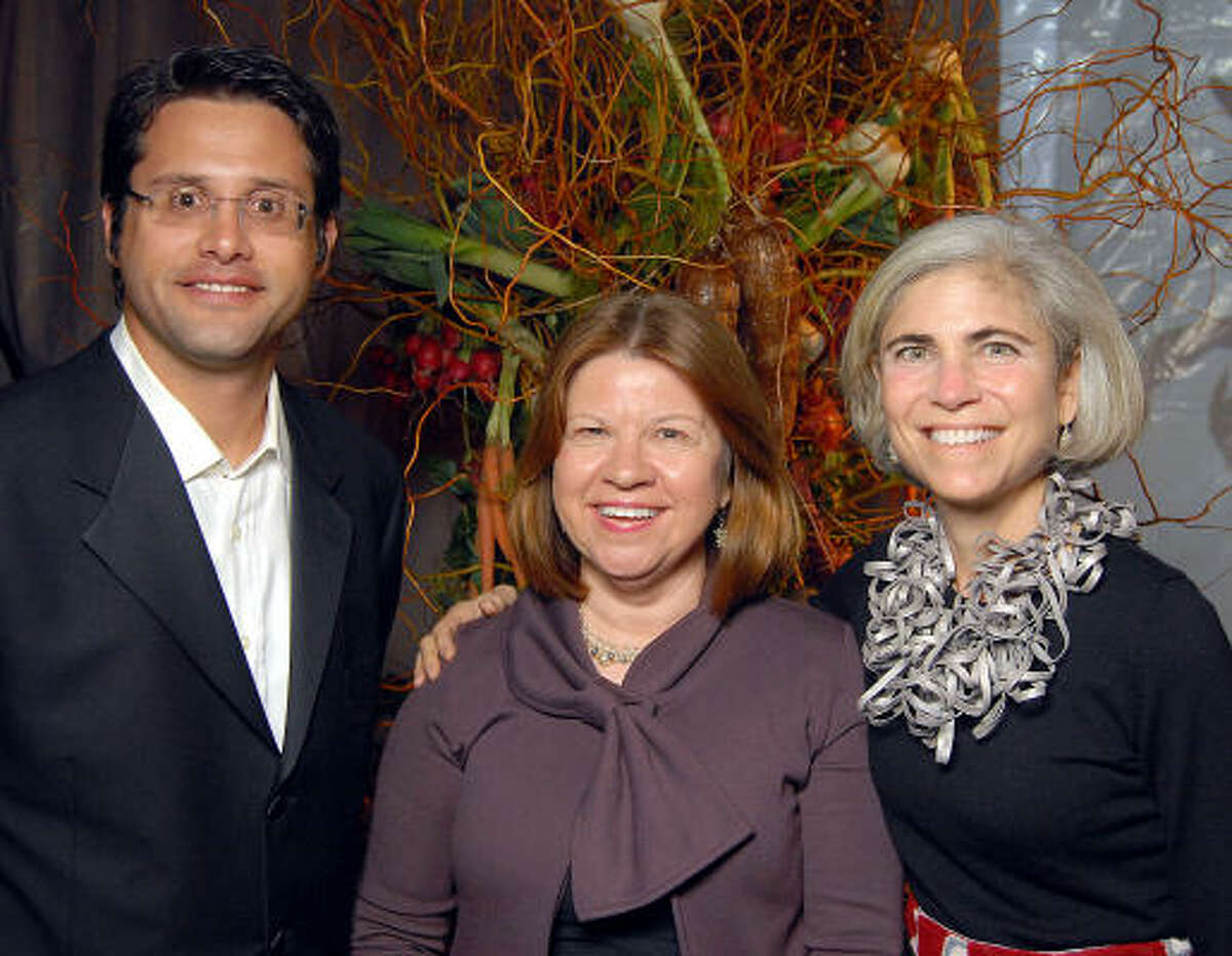 From left: Ian Rosenberg, Anne Olson and Judy Nyquist