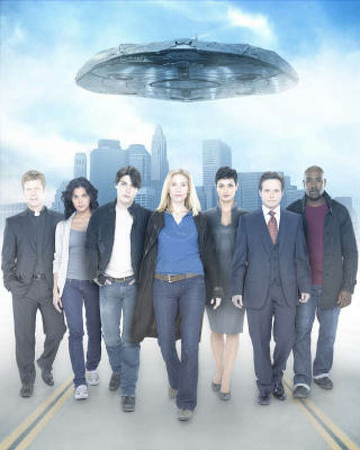 A re-imagining of the 1983 miniseries V chronicles the arrival to Earth of a technologically advanced alien race who come in peace but actually have sinister motives. Take a look at other shows from the past that involve aliens and their interactions with humans. Photo: BOB D'AMICO, ABC