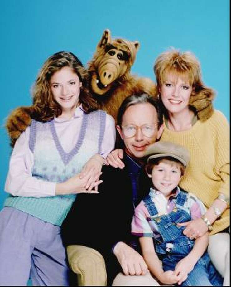 Alf is about a friendly extraterrestrial nicknamed ALF (Alien Life Form), who crash lands in the garage of the suburban middle class Tanner family. Photo: GARY NULL, NBC