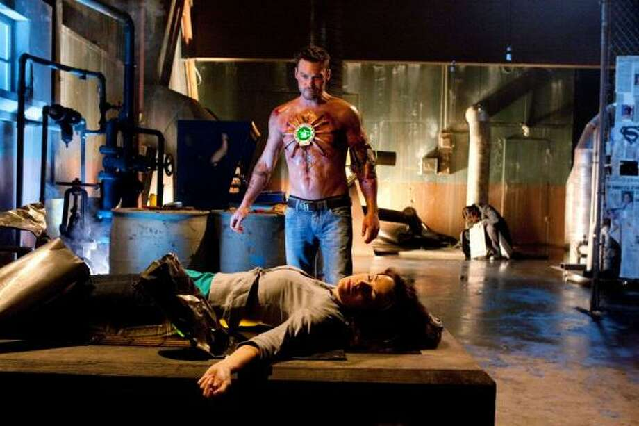 Smallvilleis based on the life of Clark Kent in the years before he becomes Superman . Photo: Jack Rowand, THE CW