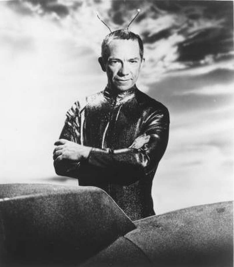 My Favorite Martianis about a human-looking extraterrestrial in a one-man spaceship that crash-lands near Los Angeles. Photo: WARNER BROS., AP
