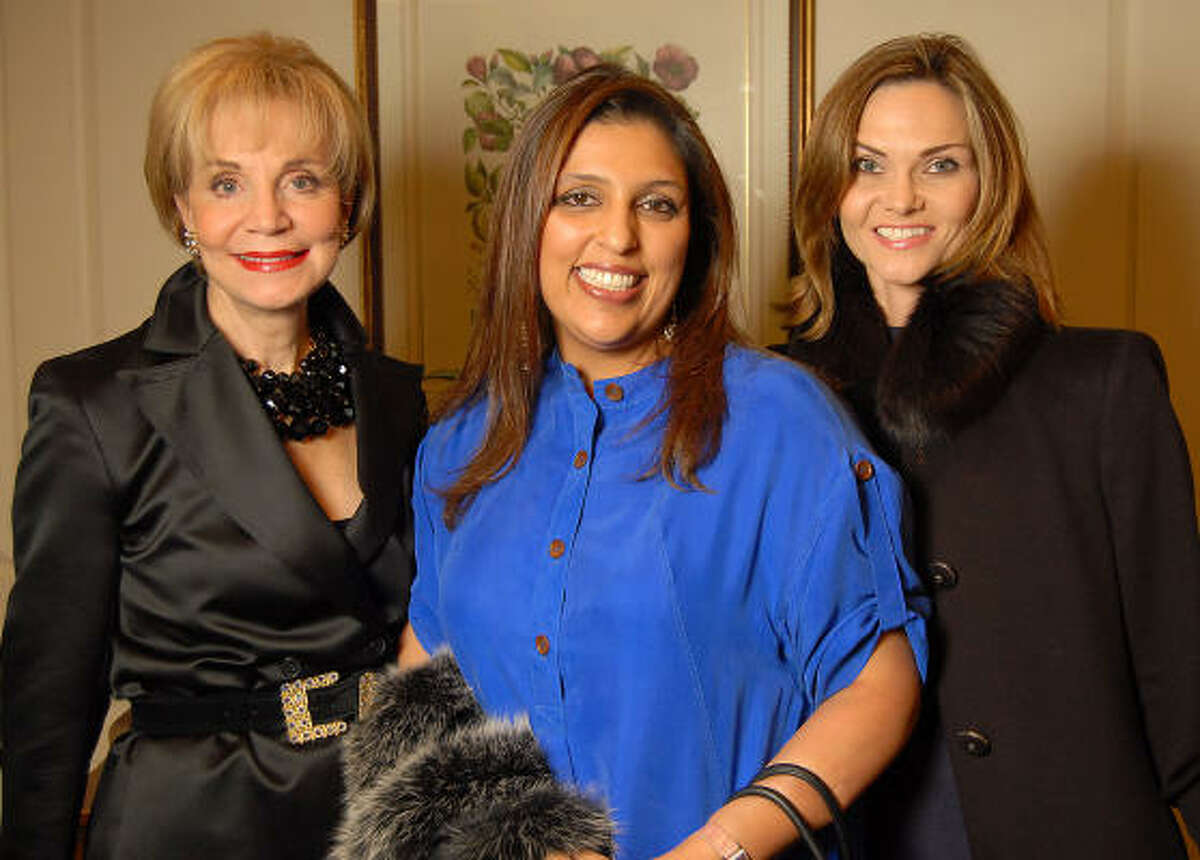 From left: Lisa Holland Nelson, Nidhika Mehta and Gabriela Dror