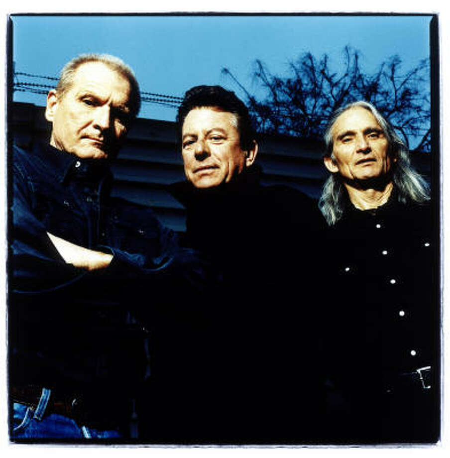 More a band than a legend lately, Jimmie Dale Gilmore, Joe Ely and Butch Hancock pop up from time to time as the Flatlanders. 8 p.m. Friday at Fitzgerald's, 2706 White Oak. Tickets are $25; Photo: Steve Gullick