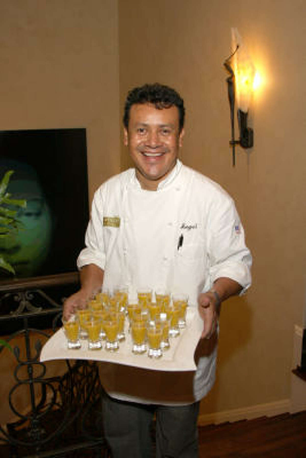 Chef Hugo Ortega of Hugo's Backstreet Cafe.