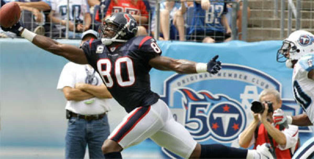 Offensive MVP: Wide receiver Andre Johnson Healthy or hurt, he's still one of the two best at his position.