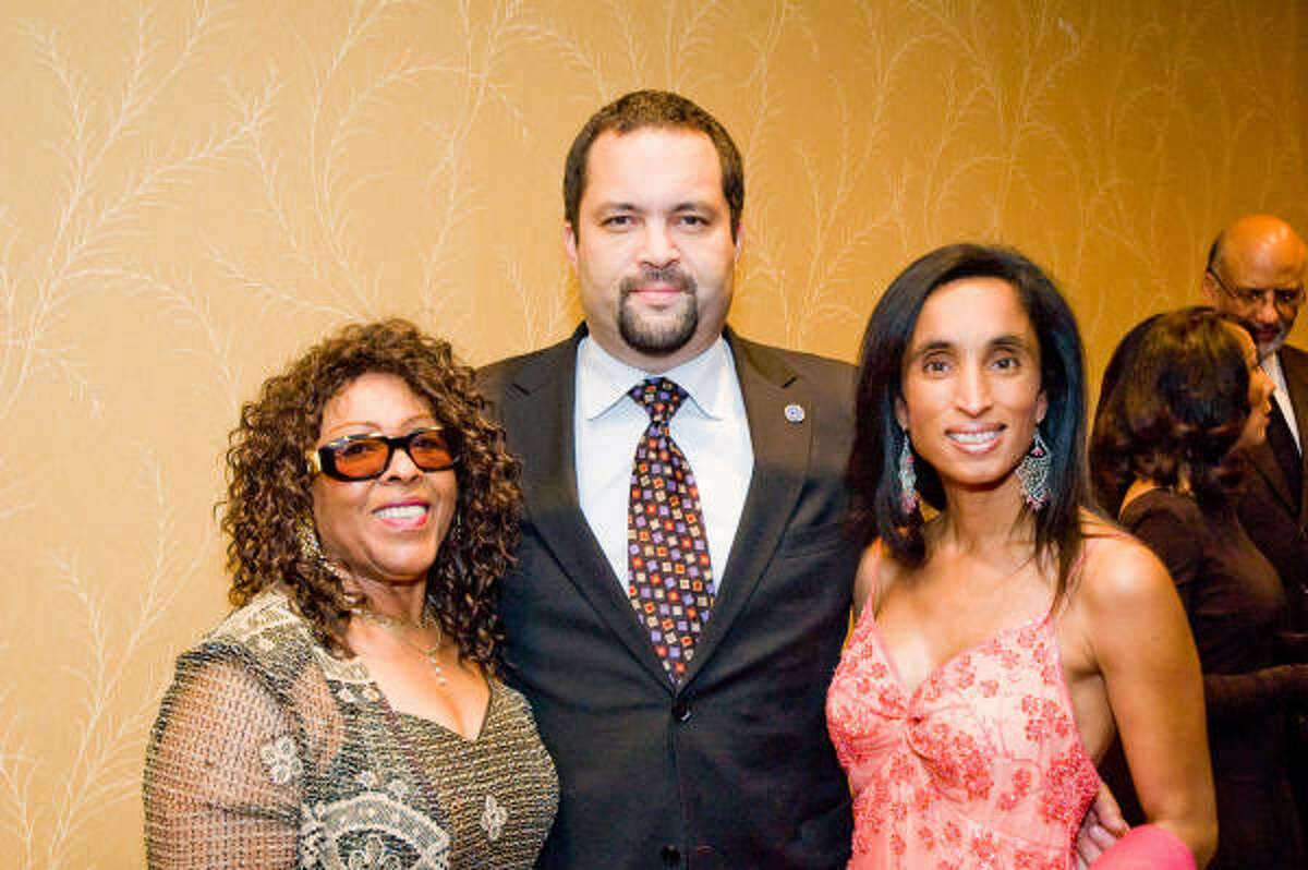 Carol Galloway, Benjamin Todd Jealous and Allison Leland