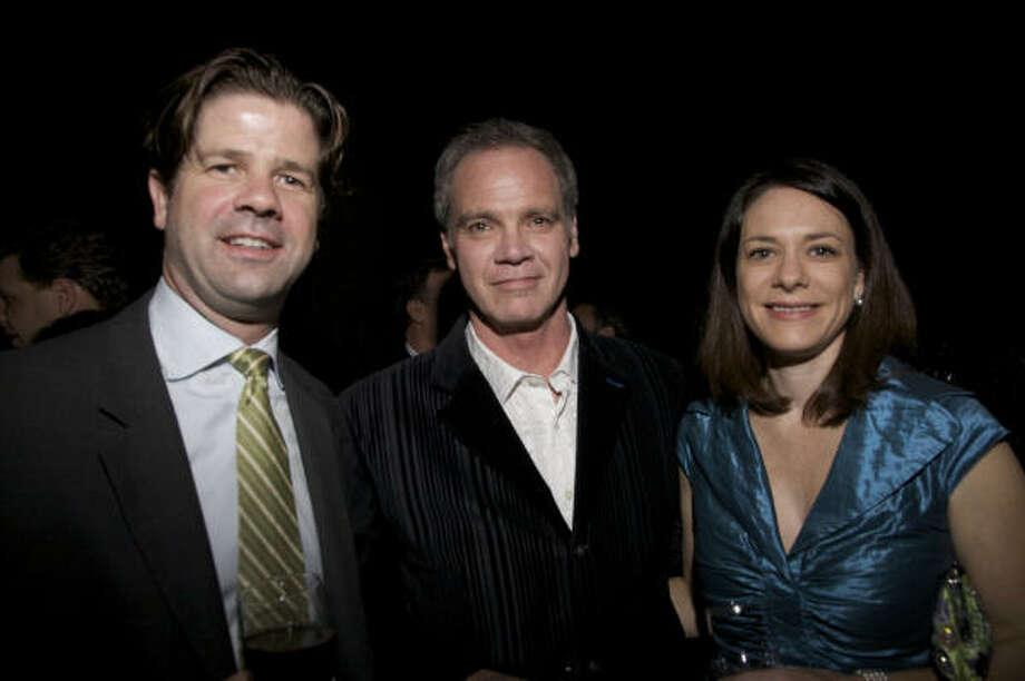 Ryan Hicks, Marcus Maan and Pamela Hicks Photo: Everett Taasevigen Photography