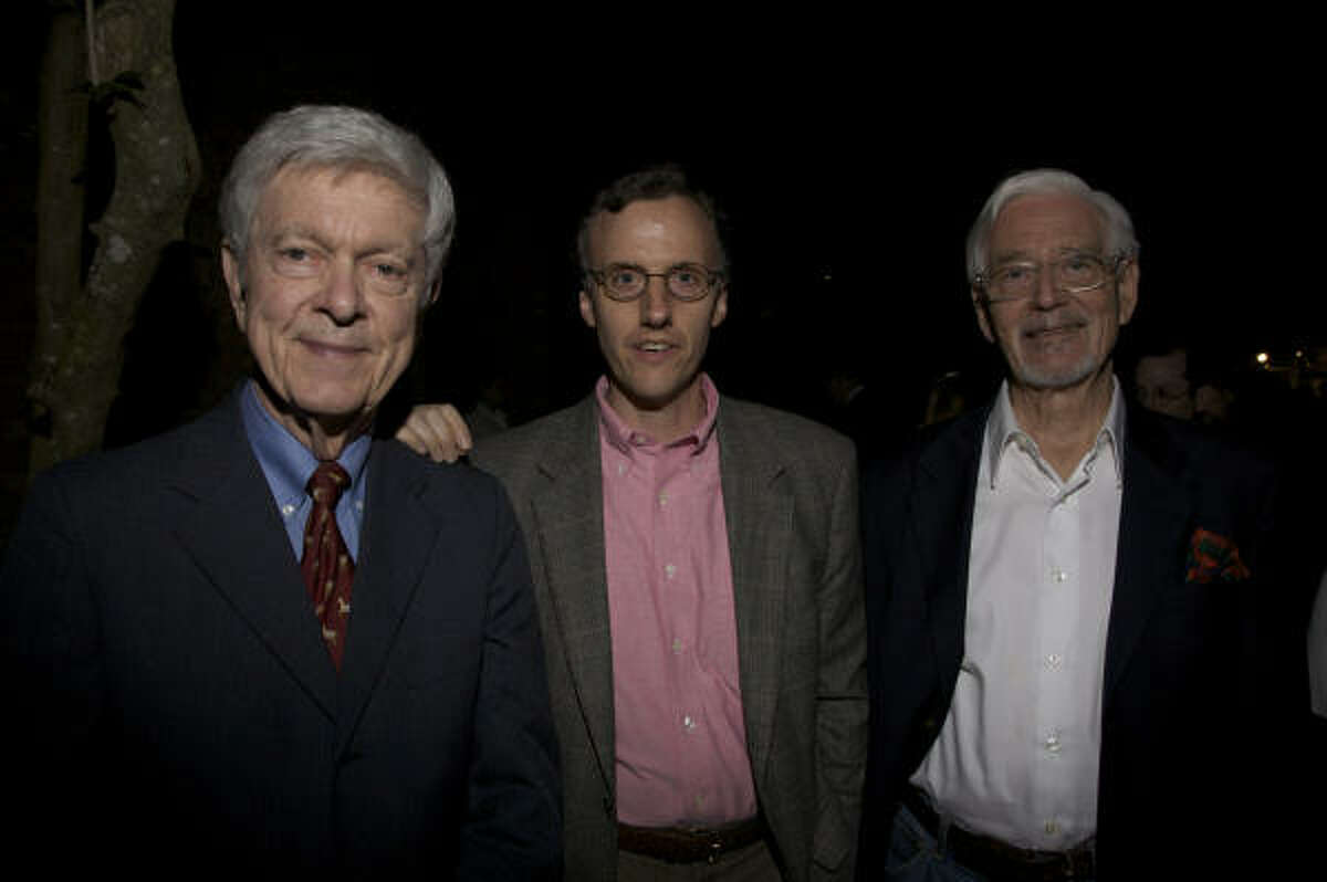Bill Guest, Wil McCorquodale and Walter Widrig