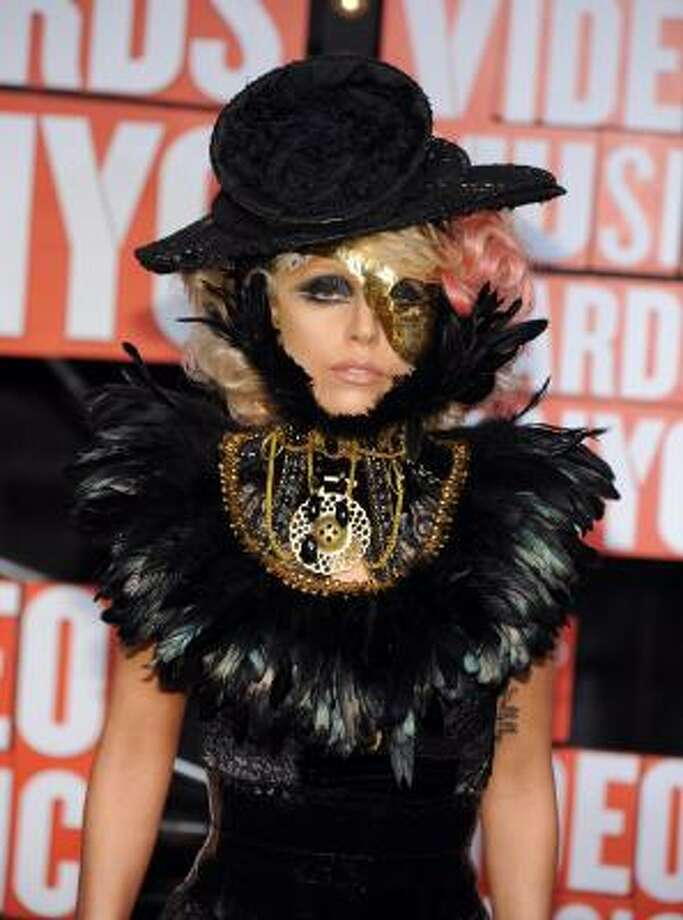 Lady Gaga has been named the creepiest musician in an online poll after her eccentric performance of Paparazzi on the MTV Video Music Awards took her scary factor to a whole new level. Here are other musicians known for their weirdness. Photo: Charles Sykes, AP