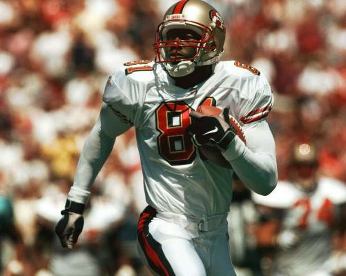 1996: Terrell Owens, who was drafted by the San Francisco 49ers in the third round out of Chattanooga, had a nice rookie campaign, catching 35 passes for 520 yards and four touchdowns.
