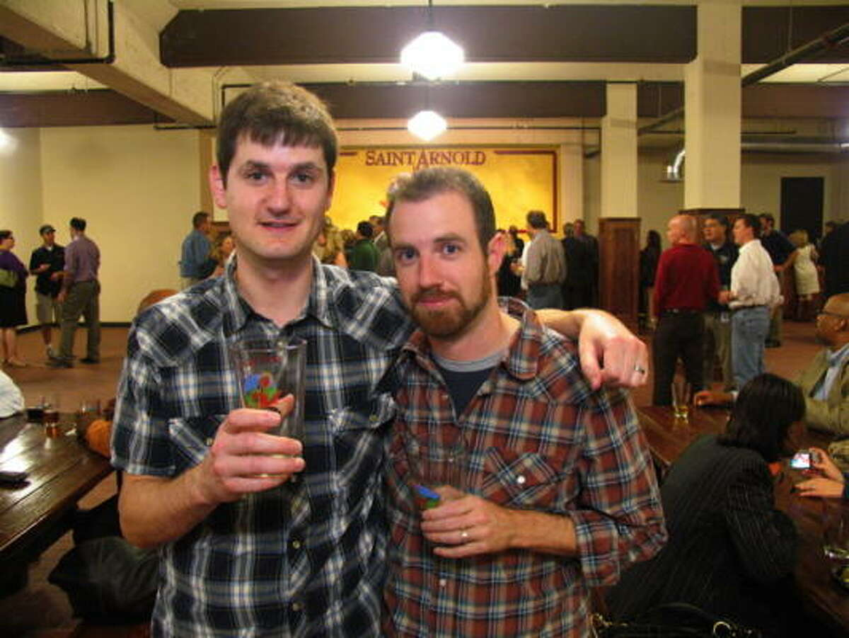 Mike Beaubien, left, and James Simpson