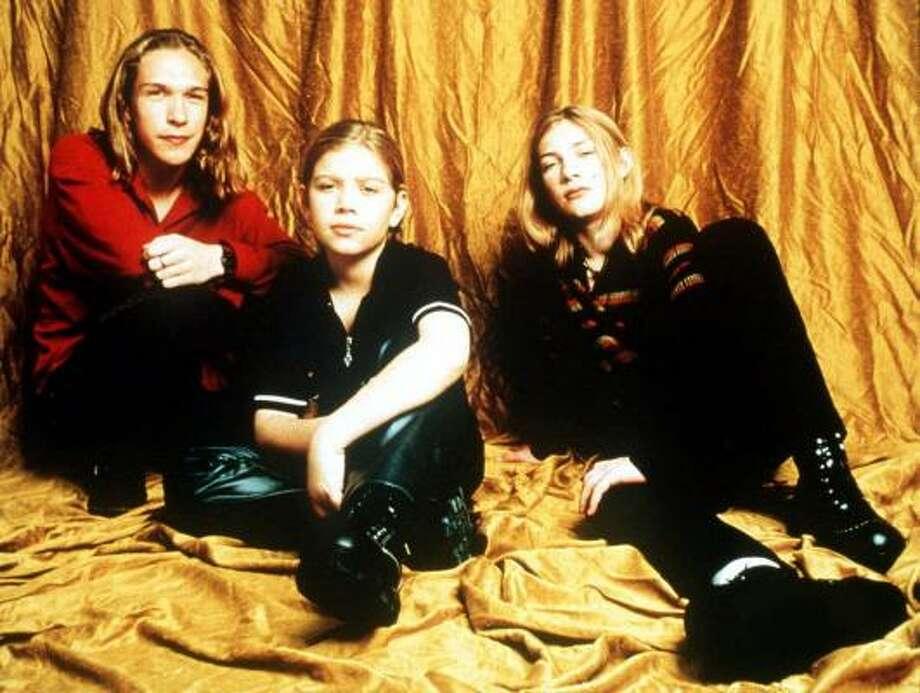 Hanson brothers from left, Isaac Hanson, Zac Hanson and Taylor Hanson in 1997. Photo: MERCURY RECORDS, KRT