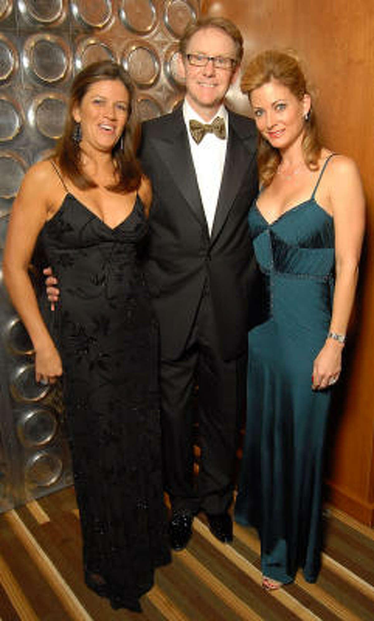 From left: Jessica Candela, Jeff Majewski and Karen Maley