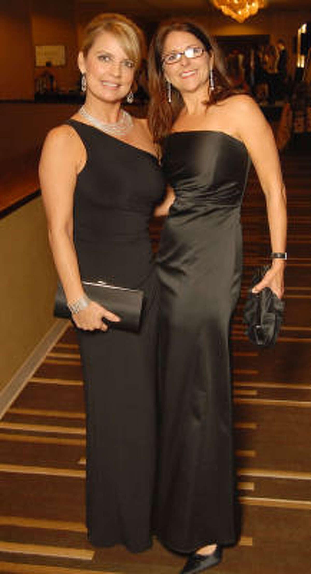 Melissa Juneau and Karen Savoie