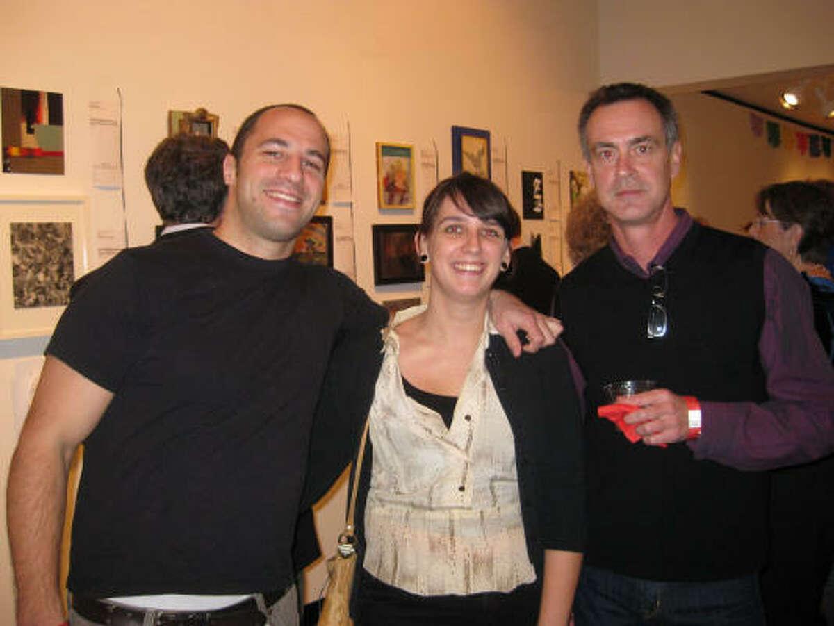 Josh Bernstein, Natasha Bowdoin and Patrick Reynolds