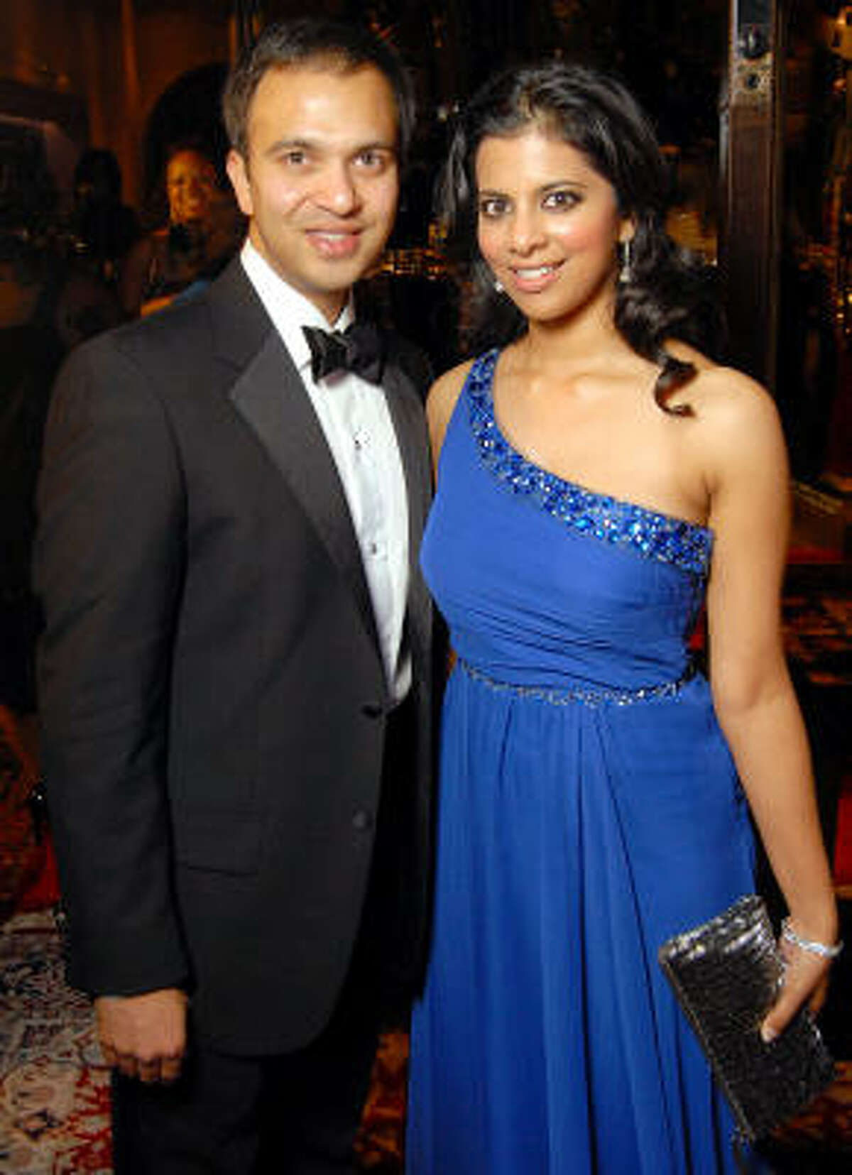 Ilyas Colombowala and Elizabeth Abraham