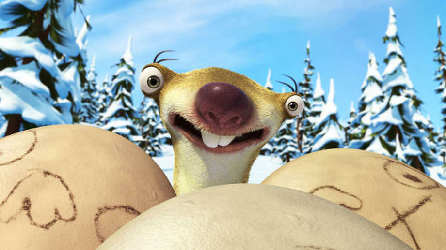 Ice Age: Dawn of the Dinosaurs, $14.99, keeps the children entertained and has humor for adults, also. See what else is coming out on DVD this week. Photo: Handout, MCT