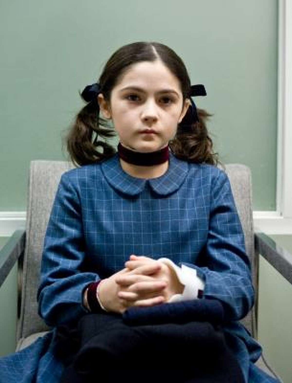Orphan , $17.99, is a horror flick about an adopted orphan child that has bad things happen around her.
