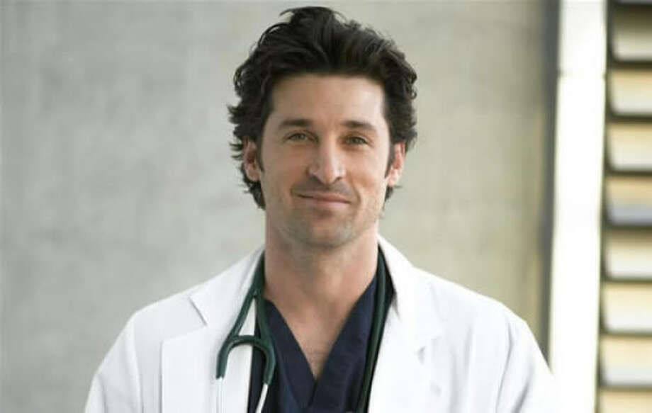 We can't forget McDreamy, aka Dr. Derek Shepherd who was played by Patrick Dempsey on 'Grey's Anatomy.' Photo: ABC