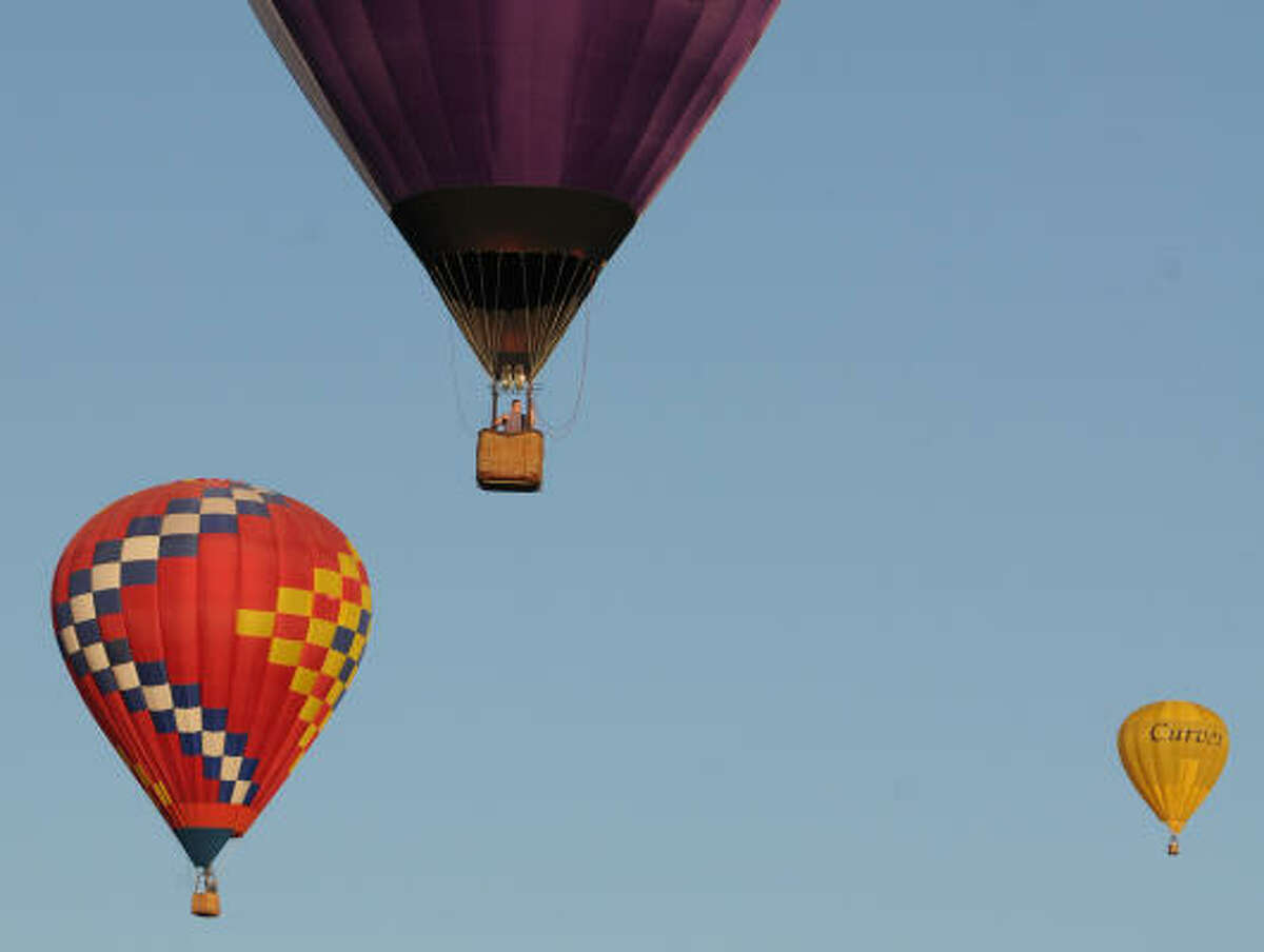 Hot air balloons are the stars of the RE/MAX Ballunar Liftoff, one of Clear Lake's biggest events of the year.