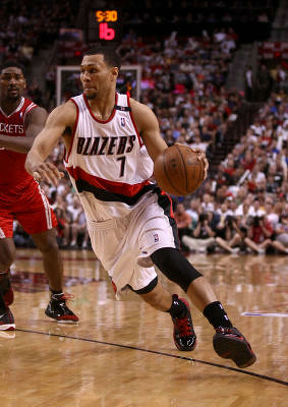 Portland Trail Blazers Led by Brandon Roy (7), Portland already was loaded with talent. In the offseason, it added free agent Miller, quietly one of the better point guards in the NBA over the past few seasons. Predicted finish: 58-24 (first in Northwest, second in West).