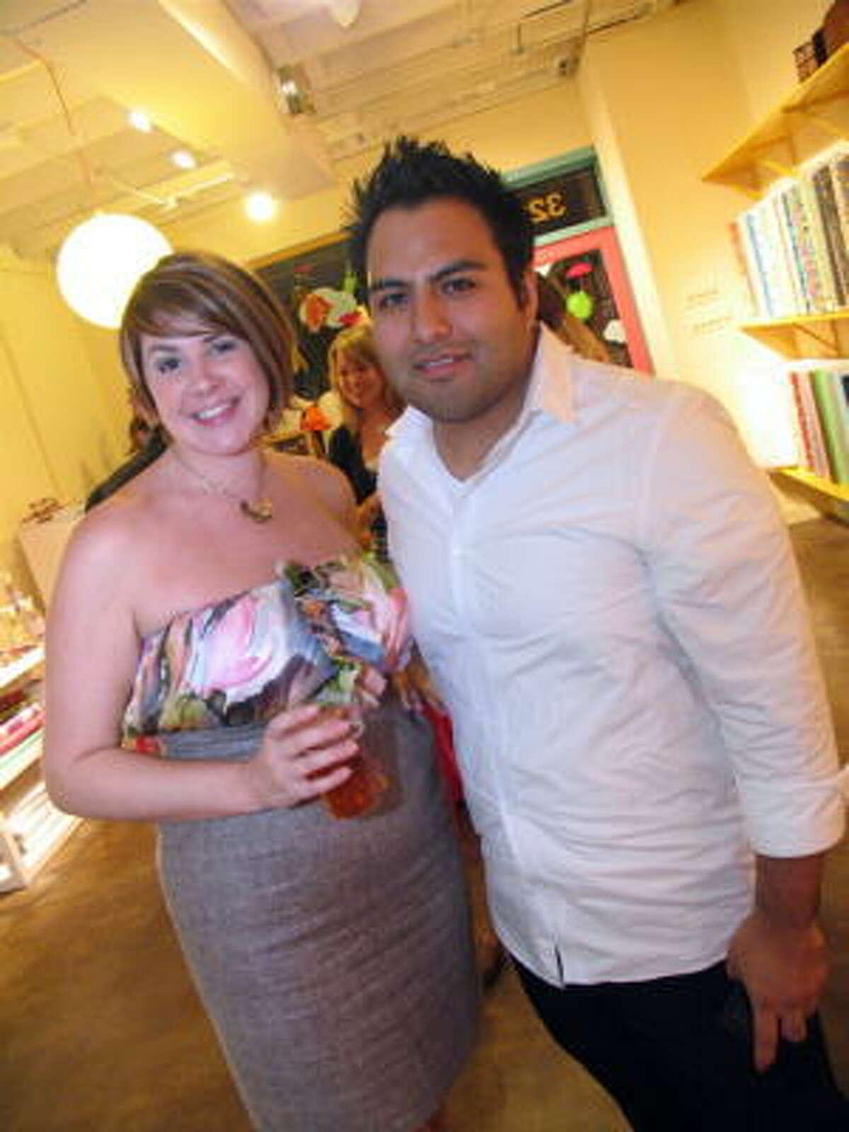 Monica Danna, left, and Carlos Gonzalez